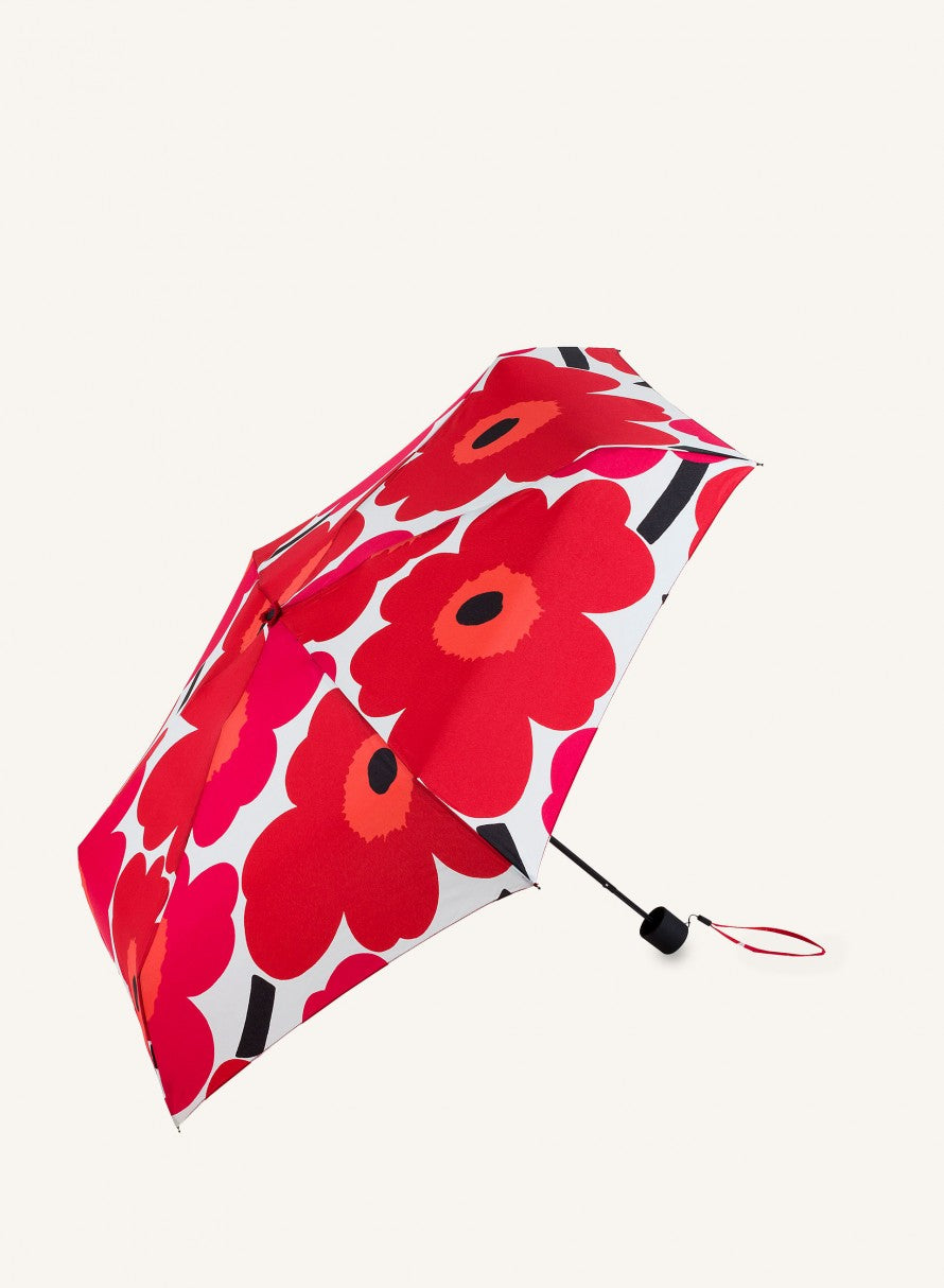 Pieni Unikko Red Mini Umbrella