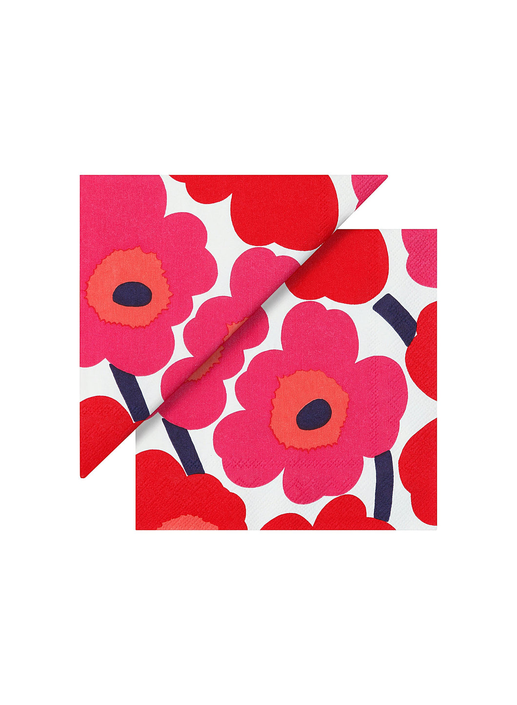 Unikko Red Luncheon Napkins
