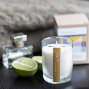 """Smells Like a Late Night"" Soy Candle"
