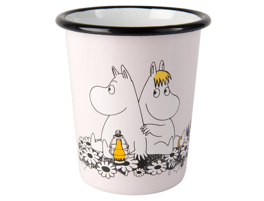 Moomin Retro Together Forever Enamel Tumbler