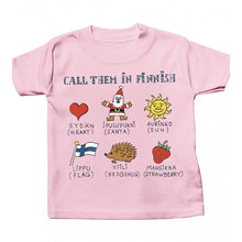 Call Them In Finnish T Shirt