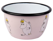 Moomin Retro Snorkmaiden Light Pink Enamel Bowl