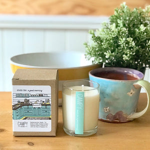 """Smells Like a Good Morning"" Soy Candle"