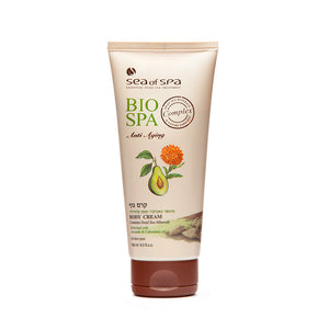 Bio Spa Body Cream enriched with Avocado & Calendula Oil