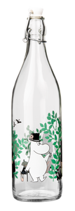 "Moomin ""Day in the Garden"" Glass Bottle"
