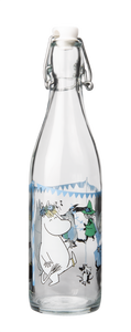 "Moomin ""Summer Party"" Glass Bottle"