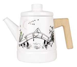 "Moomin ""Missing You"" Coffee Pot"