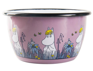 Moomin Friends Bowl Pink