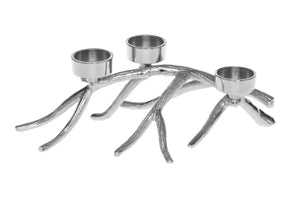 Silver Branch Decorative Tea Light