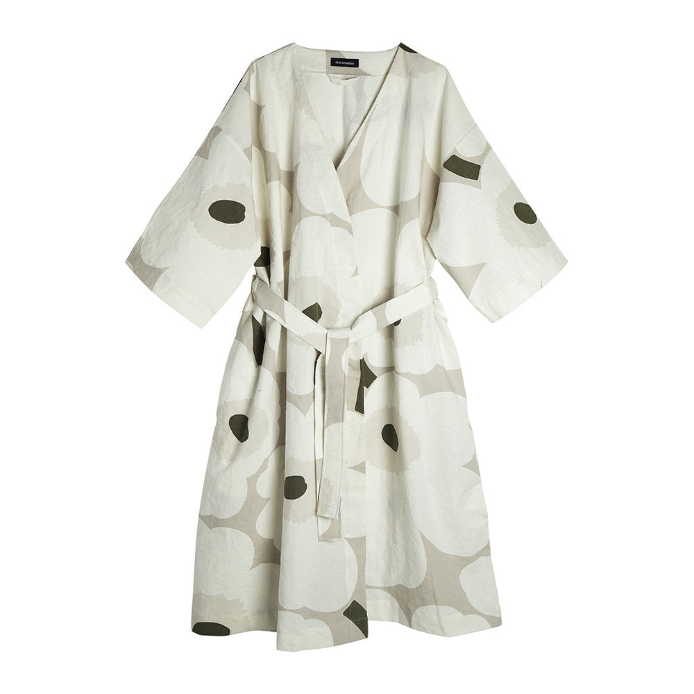 Unikko Linen Bathrobe
