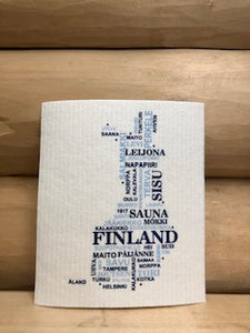 Eco Dish Cloth From Sweden (Different Prints and Patterns)