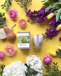 """Smells Like An Afternoon in the Garden"" Soy Candle"