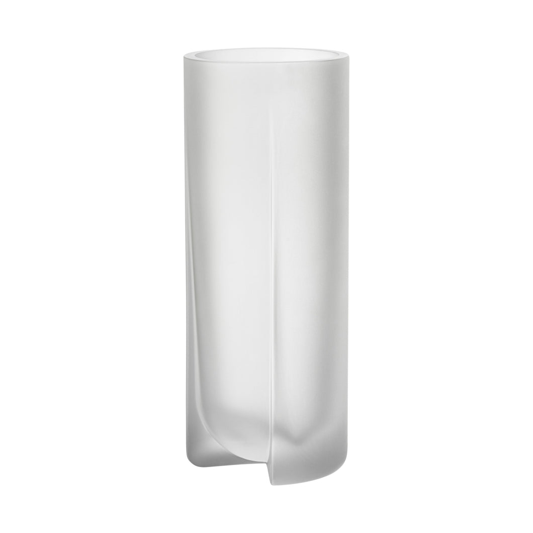 Kuru Vase Frosted Clear