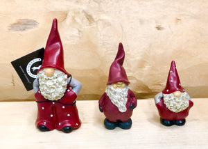 Tomte Max, Elmer and Leonard (set of 3)
