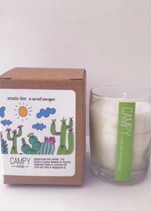 """Smells Like A Sweet Escape"" Soy Candle"