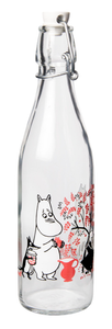 Moomin Berries Glass Bottle