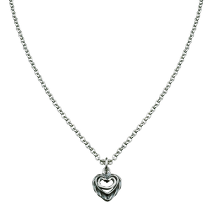 Heart of the House Silver Pendant