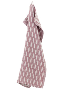 HELMI Towel Bordeaux- Linen
