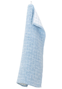 Lastu Tea Towel Rainy Blue Linen