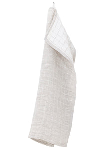 Lastu Tea Towel White Linen