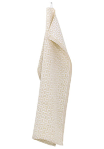 MAUSTE Tea Towel White- Gold