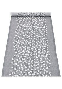 VARPU Table Runner Grey White