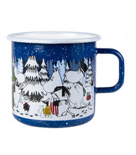 Winter Forest Enamel Mug