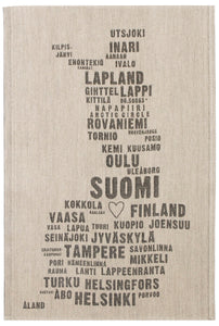My Finland Tea Towel