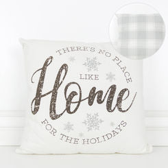 Home for the Holidays Canvas Pillow