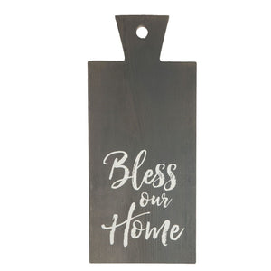 """Bless Our Home"" Bread Board"