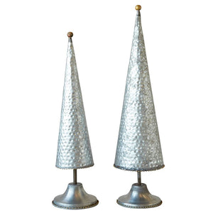 Galvanized Metal Christmas Tree