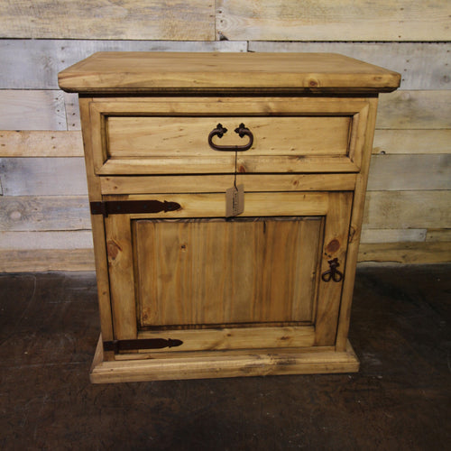 1 Door/1 Drawer Nightstand