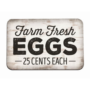 """Farm Fresh Eggs"" Magnet"
