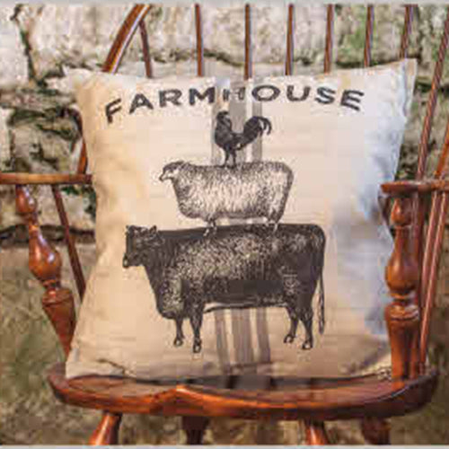 Farmhouse Animal Pillow
