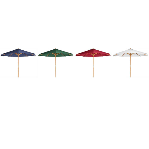 Teak Patio Umbrella
