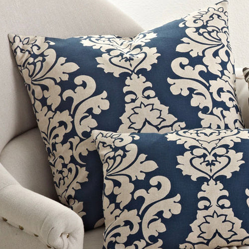 Classic Damask Design Pillow