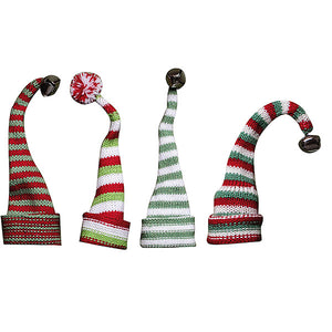"7""L Knit Hat Wine Bottle"