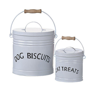 Metal Pet Treat Containers