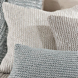 Knitted Design Pillow Filled Square
