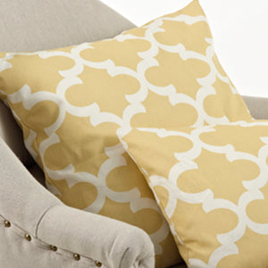 Moroccan Design Pillow-Filled-Square