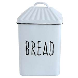 "Enameled Box w/lid ""Bread"""