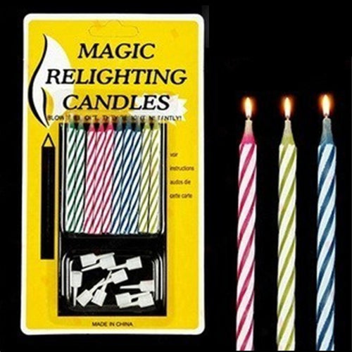 LMAO - Tricky Birthday Candles (They won't blow out!)