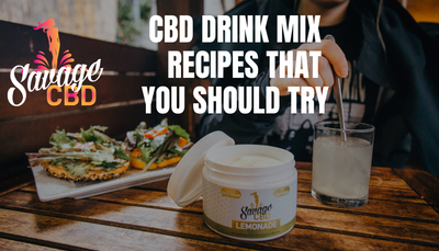 CBD Drink Mix Recipes That You Should Try