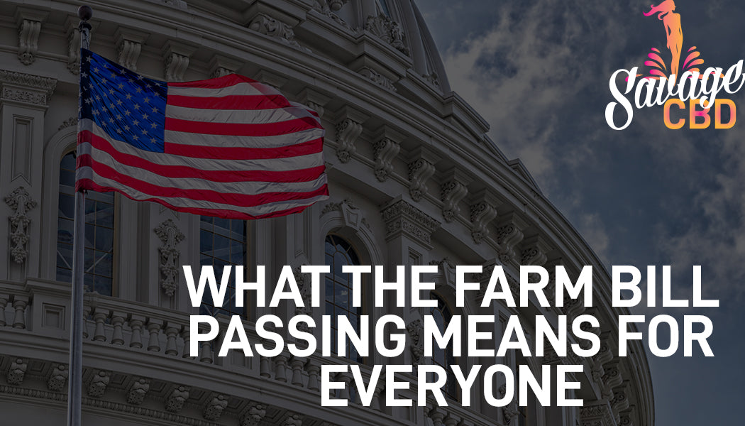 What the farm bill passing means for... well everyone