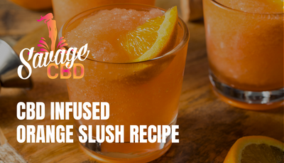 CBD Infused Orange Slush Recipe
