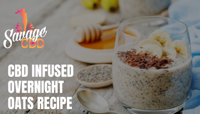 CBD Infused Overnight Oats Recipe