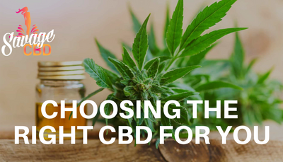 Choosing The Right CBD For You