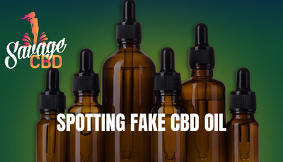Spotting Fake CBD Oil