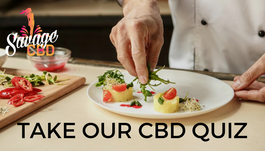 Tell Us What You Like To Eat and We'll Let You Know What CBD You Should Try
