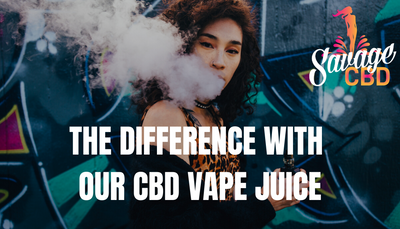 The Difference With Our CBD Vape Juice